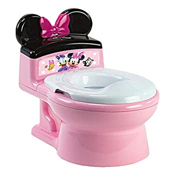 The First Years Minnie Mouse Imaginaction Potty & Trainer Seat Pink