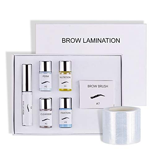 Ardorlove 3D Eyebrow Lifting Eyebrow New Brow Kit Safe Perming Brow Lift Set Enhancer Brows Styling Beauty Salon Home Use Makeup (A) (A)