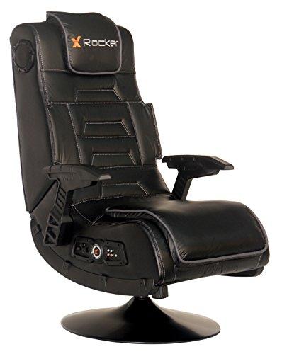 online x rocker 51396 pro series pedestal 2 1 video gaming chair gamblingcall. Black Bedroom Furniture Sets. Home Design Ideas