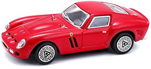 Bburago Maisto France BBurago Ferrari 250 GTO-escala 1/43, color 31129, aleatorio , color/modelo surtido