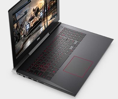 Dell Inspiron 15 7000 Gaming Series Edition 7577 15.6-Inch Full HD Screen Laptop - Intel Quad-Core i7-7700HQ, 256GB SSD + 1 TB HDD, 16GB DDR4 Memory, NVIDIA GTX 1060 6GB Graphics, Windows 10