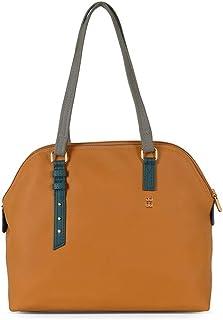 Baggit Women's Synthetic Shoulder Bag (Yellow) (Edin)