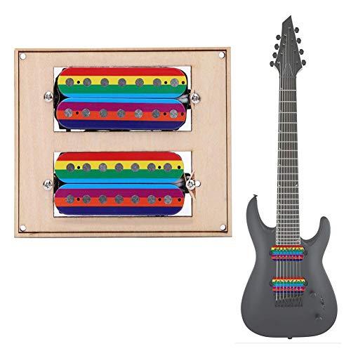 Bnineteenteam 7-snarige gitaar-dubbele spoel-tonaber bonte humbucker tonabzieh-tonaber voor vervanging van elektrische gitaaraccessoires