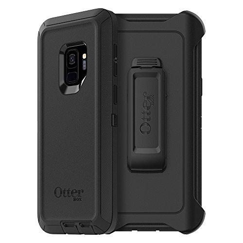 OtterBox Defender Sturzsichere Schutzhülle, (geeignet für Samsung Galaxy S9) schwarz