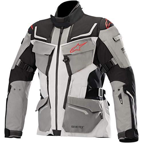 Alpinestars Chaqueta para hombre 3603518-1193-L (negro/gris/rojo, grande)