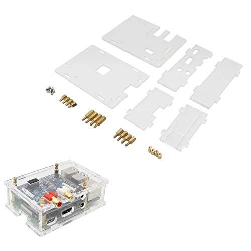 weichuang Elektronik-Zubehör, transparentes Acrylgehäuse für RPi DAC II HiFi, Soundkarte, elektronisches Zubehör
