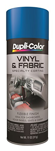 Dupli-Color Vinyl And Fabric Coating Blue 11 Oz. Aerosol - Lot of 6