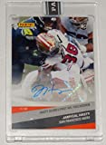 """2020 JAMYCAL HASTY""""SCORES FIRST TOUCHDOWN"""" PANINI INSTANT ROOKIE AUTO CARD #100"""