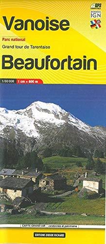 Libris Wanderkarte 04. Vanoise Parc National - Beaufortain 1 : 60 000
