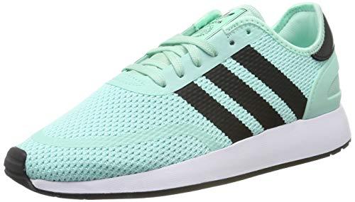 adidas N-5923, Zapatillas de Gimnasia Hombre, Verde (Clear Mint/Core Black/FTWR White Clear Mint/Core Black/FTWR White), 36.5 EU