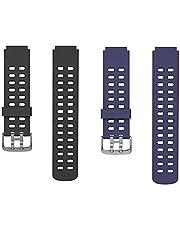 Volking Correa de Repuesto de Silicona para Relojes Inteligentes ID205 / ID205L / ID205S, Correa de Reloj de Pulseras Suaves Ajustables de Silicona