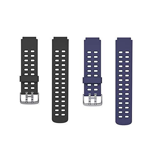 Sahoga Correas de Reloj, Pulsera Ajustable, Silicona Correas de Repuesto Correas de Reloj Inteligente Pulsera Compatible con ID205 ID205L ID205S Reloj Inteligente