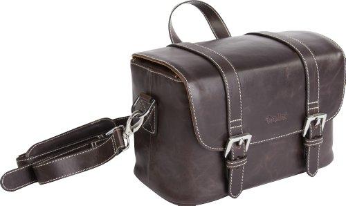 Rollei DSLR Vintage Medium Tasche - Design Kameratasche für Spiegelreflexkamera - Braun