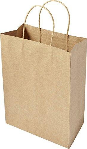 Bolsas de papel 30x 22x 11cm bolsas de papel pieza elegir Papel bolsillos marrón bolsas papel bolsillos reciclados de papel, color Braun 50 Stück 30 x 22 x 11 cm