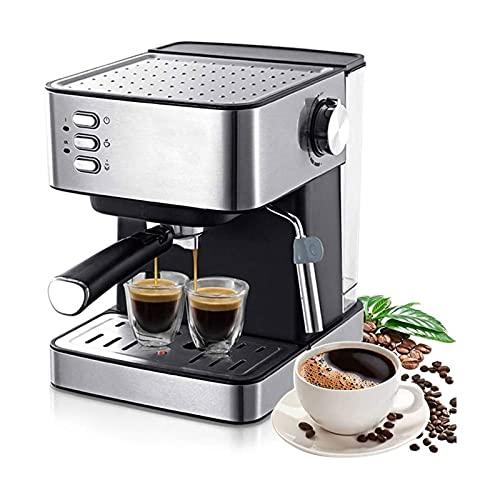 Ekspresy do kawy Elektryczny ekspres do kawy 1,6 l Młynek do kawy 15 Bar Ekspresowy elektryczny ekspres piankowy Urządzenia kuchenne Prezent Tradycyjna pompa Ekspres do espresso Automatyczne ekspresy