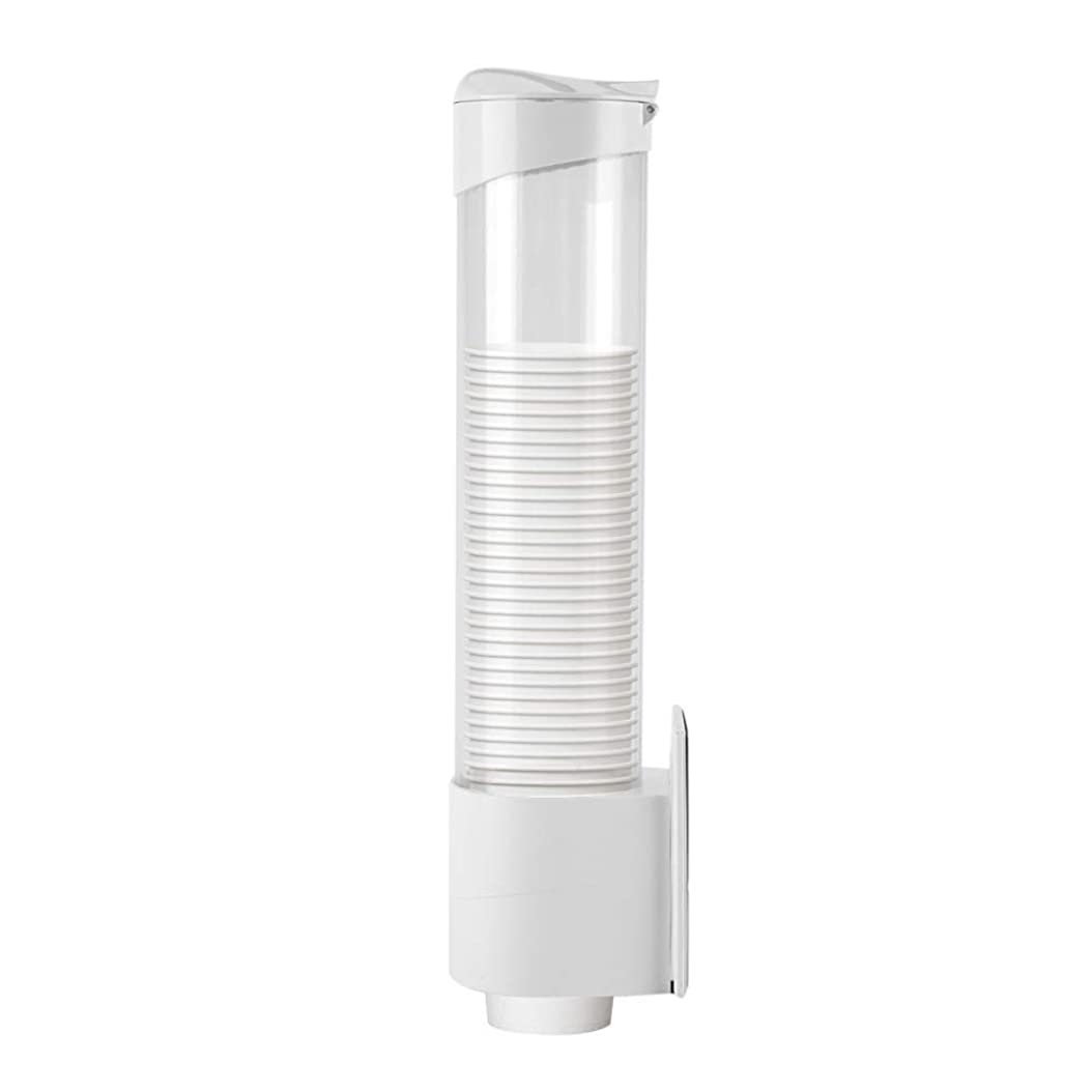 だらしない工夫するソーシャルTIANGUO カップディスペンサー 使い捨て コップ 用 ホルダー カップホルダー 紙カップディスペンサー 紙コップホルダー カップスタンド コップ カップ ディスペンサー ホルダー 収納 壁面取り付けタイプ(口径7.5cm以下)