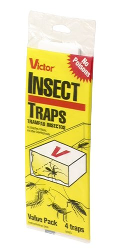 victor insect traps Victor Poison-Free M193 Insect Trap, 4-Pack