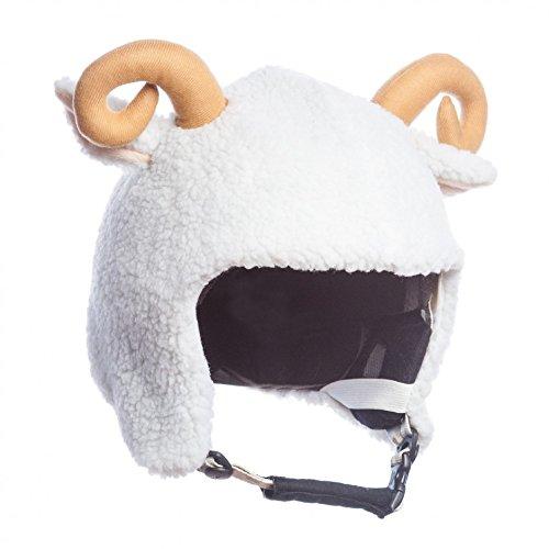 Skihelm Verkleidung, Helmcover Überzug (Ziege)