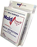 MoldCheck DIY Mold Test Kit for Home (10 Tests) | Conduct Multiple Tests Throughout The Home to Help Locate The Source of Growing Mold | No Lab Fee | Not a Mold Identification Kit