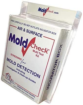 DIY MoldCheck Mold Test Kit (10 Tests per Kit) Multiple Air Sampling Tests, Simple Visual Comparison to Locate Mold Source, Easy to Use, No Lab Fee