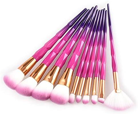 Make Up Brushes Free shipping New Rose Gold 10Pcs Set 25% OFF Bursh Makeup Powde Concealer