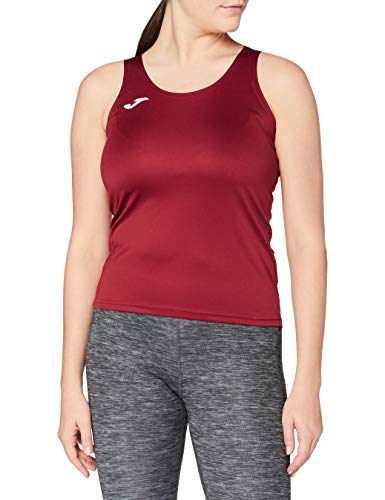 Joma 900038.671 - Camiseta para Mujer, Color Burdeos Oscuro, Talla M