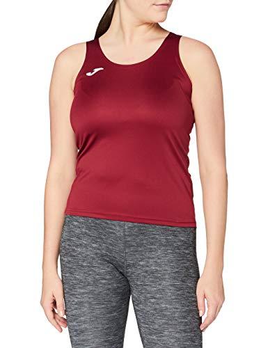 Joma 900038.671 - Camiseta para Mujer, Color Burdeos Oscuro, Talla XL