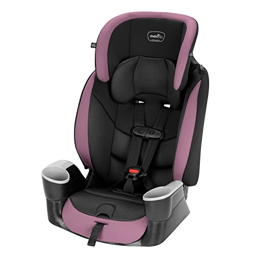 Evenflo Maestro Sport Convertible Booster Car Seat, Forward Facing, High Back, 5-Point Harness, For Kids 2 to 8 Years Old, Whitney Pink