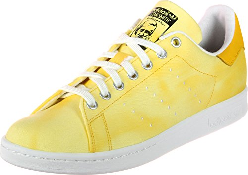 adidas Stan Smith Pharrell Williams Holi Pack, Zapatillas Unisex Adulto, Blanco (Ftwbla/Ftwbla/Amaril 000), 36 2/3 EU