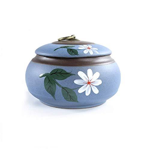 Urnas para cenizas regalos regalos recuerdos flores patrones para madre 2 tamaño (color: C)