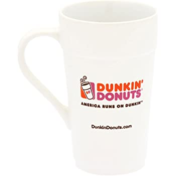In case of accident my blood type is dunkin donuts Black Coffee Mug 11 Oz