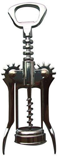 MSV 110299 Tire Bouchon Levier en Zinc, Argent, 30x11,5x5,2 cm