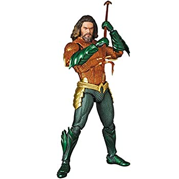 Medicom Aquaman Mafex Action Figure Multicolor