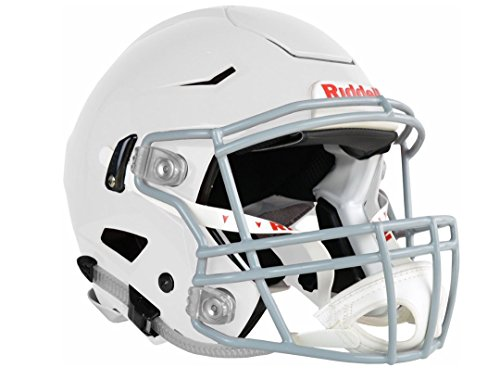 Riddell Adulte 250228 Casque de Football, Blanc, Large