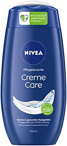 NIVEA Creme Care Pflegedusche (250 ml), Duschgel mit einzigartig mildem Duft, sanft reinigende Cremedusche mit ausgesuchten Inhaltsstoffen der NIVEA Creme