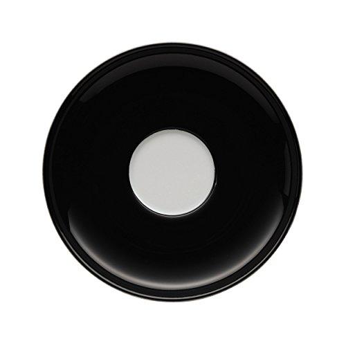 Arzberg Teaworld Untertasse für Teetasse, Unterteller, Teller, India / Schwarz, Porzellan, 14 cm, 46050-670527-14641