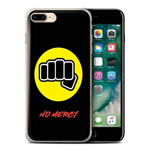 W3Tech - Carcasa para teléfono móvil, diseño de película Karate, policarbonato plástico, Puño de Hierro Dojo, Apple iPhone 7 Plus
