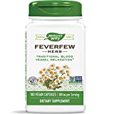 SUPPORTS BLOOD VESSEL TONE: Feverfew (Tanacetum parthenium) has been traditionally used to support healthy blood vessel tone.* SUPERIOR QUALITY STANDARDS: Our Feverfew is carefully tested and produced to superior quality standards. No Added Sugar AUT...