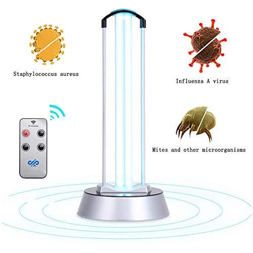GODLV UV-lamp desinfectie 40W UV desinfecterende lamp antibacterieel 99,9%, UV-licht desinfectie ultraviolet lamp sterilisatielamp voor thuis, huisdieren, school hotel