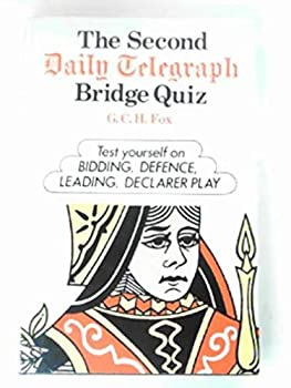"Hardcover The second ""Daily Telegraph"" bridge quiz Book"