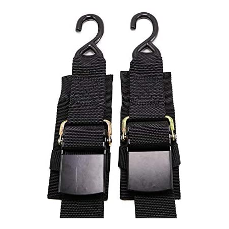 """Adjustable Transom Tie Down Straps Quick Release Buckle for Boat Trailer 2/"""" X 4"""
