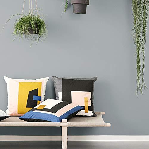 Japanische helle dunkelblaue Tapete, weiße Möbel, Tapeten, Damenbekleidungsgeschäft Rokoko-Stil Schlafzimmer L