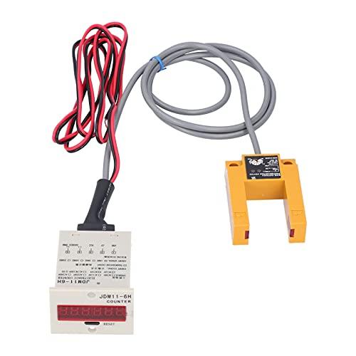 BERM Digital Display Counter Electronic Industrial Sensor Automatic Induction BEM‑6H‑30E4‑CT (AC220V)
