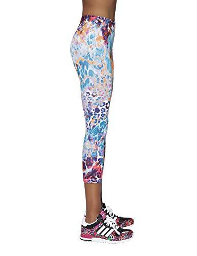 Bas Bleu Caty 90 Leggings Damen Sporthosen Fitness Lang Blickdicht Setteil Top Qualität EU (2/S/36)