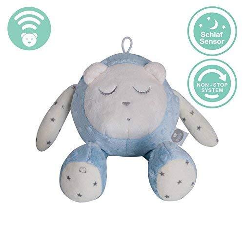 myHummy Mascotte Qui dort avec capteur de Sommeil (Bleu)