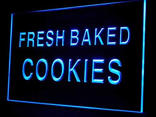 Fresh Baked Cookies Bread Shop Led Light Sign