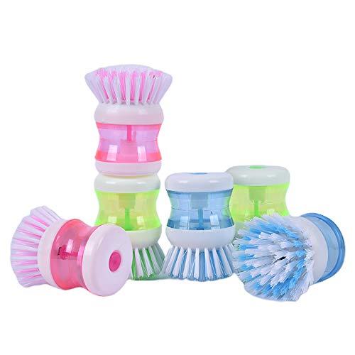 Cepillo de limpieza de plástico Pot Plato Cepillo de limpieza Productos de limpieza para el hogar Cocina Lavado Utensilios para el hogar Detergencia fuerte