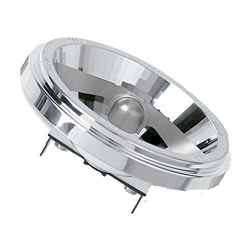 Osram Halospot Halogen-Reflektor, G53-Sockel, dimmbar, 12 Volt, 35 Watt - Ersatz für 50 Watt, 6 ° Abstrahlungswinkel, Warmweiß - 2900K
