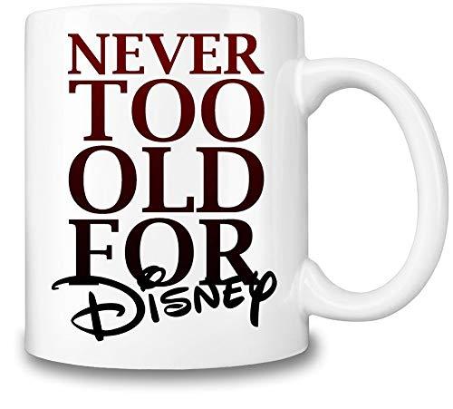 Taza de café con temática de Disney, taza de bebidas calientes y frías de Disney, calidad superior, 325 ml, el mejor regalo para cada fan de Disney, accesorio imprescindible de Disney