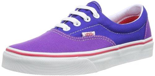 Vans U ERA PANSY/SURF THE VVHQCIQ Unisex-Erwachsene Sneaker, Blau / Lila  (pansy/surf the), EU 39 (US 7)